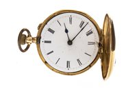 Lot 757-A LADY'S CONTINENTAL GOLD FOB WATCH