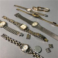 Lot 10-A COLLECTION OF FASHION WATCHES