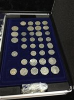 Lot 17-A LARGE COLLECTION OF VARIOUS CIRCULATION BRITISH AND INTERNATIONAL COINS