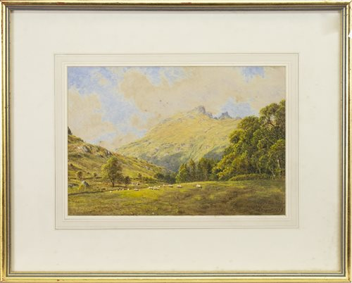 Lot 532-ARDGARTAN, LOCH LONG, A WATERCOLOUR BY WALLER HUGH PATON