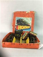 Lot 43-A HORNBY CLOCKWORK TRAIN SET