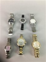 Lot 23-GENT'S FESTINA WRIST WATCH WITH OTHER WRIST WATCHES