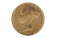 Image for A GOLD SOVEREIGN, 1853