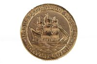 Lot 517-A GOLD BRITISH GUYANA COIN, circa 1910