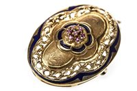 Lot 101-A VICTORIAN STYLE BROOCH