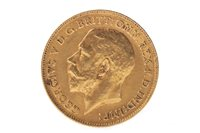 Image for A GOLD HALF SOVEREIGN, 1911