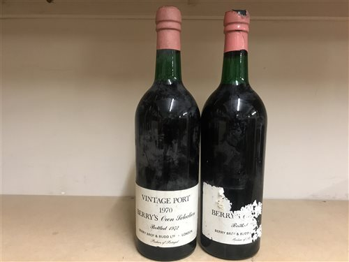 Lot 19-BERRY'S OWN SELECTION 1970 (2)