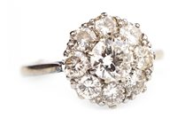 Lot 23-A DIAMOND CLUSTER RING