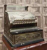 Lot 1605-A VICTORIAN CASH REGISTER