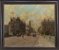 Lot 630 - GREAT WESTERN ROAD, AN OIL BY RICHARD FORSYTH
