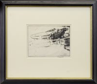 Image for FISHERMAN'S RETURN, A DRYPOINT BY EDMUND BLAMPIED