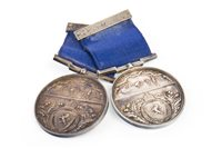 Lot 1626-A LOT OF TWO VICTORIAN CURLING MEDALS