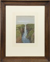 Lot 405-IN ORKNEY, A WATERCOLOUR BY ROBERT GIBB