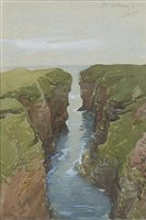 Image for IN ORKNEY, A WATERCOLOUR BY ROBERT GIBB