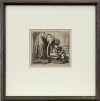 Image for BATH TIME, AN ETCHING BY RANDOLPH SCHWABE