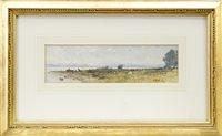 Image for ESTUARY, A WATERCOLOUR BY SIR WILLIAM FETTES DOUGLAS