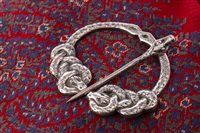 Lot 25-THREE SILVER KILT PINS