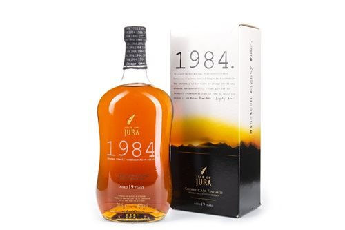 Lot 20-JURA 1984 GEORGE ORWELL AGED 19 YEARS