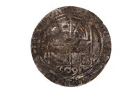 Lot 532-A SCOTTISH SILVER HAMMERED JAMES VI SIXPENCE DATED 1605