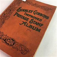 Lot 18-A SCHOOLBOY'S STAMP BOOK