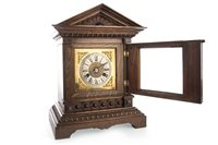 Lot 1428-A VICTORIAN MANTEL CLOCK