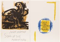 Lot 518-SONG OF THE MIGRANT BIRD, THE COMPLETE SET BY JOSEF HERMAN
