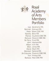 Lot 519-THE COMPLETE ROYAL ACADEMY OF ARTS MEMBERS PORTFOLIO 2000