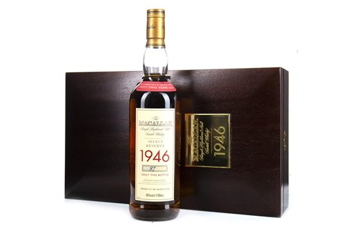 Lot 32-MACALLAN 1946 SELECT RESERVE 52 YEARS OLD