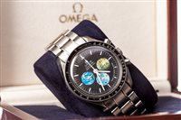 Lot 799 - A GENTLEMAN'S RARE OMEGA SPEEDMASTER 'MOON TO MARS' WATCH