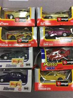 Lot 345 - A LOT OF EIGHT BOXED MODEL VEHICLES
