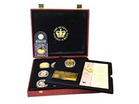 Lot 534-A COLLECTION OF SILVER PROOF AND OTHER COINS