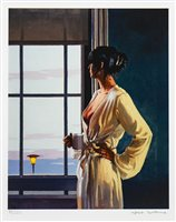 Lot 525-BABY, BYE BYE, A SIGNED GICLEE PRINT BY JACK VETTRIANO