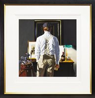 Lot 526-THE 19TH, A GICLEE PRINT BY IAIN FAULKNER