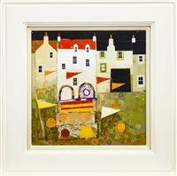 Lot 538-HARBOUR BREEZE, A MIXED MEDIA BY GEORGE BIRRELL