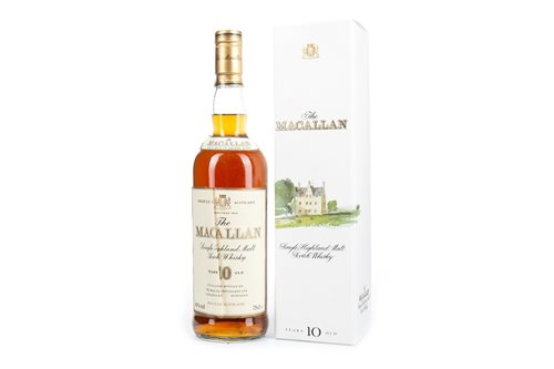 Lot 41-MACALLAN 10 YEARS OLD