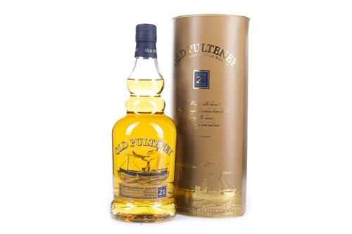 Lot 42-OLD PULTENEY AGED 21 YEARS