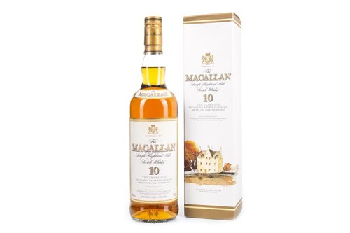 Lot 48-MACALLAN 10 YEARS OLD