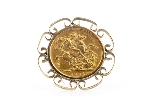 Lot 511-A GOLD SOVEREIGN, 1906