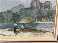 Lot 410-ON THE VIENNE, A WATERCOLOUR BY SIR WILLIAM RUSSELL FLINT