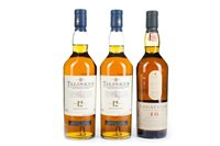 Lot 65-TWO BOTTLES OF TALISKER AND ONE LAGAVULIN