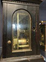 Lot 1438 - A GEORGIAN CARRIAGE CLOCK BY JAMES MURRAY