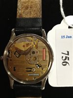 Lot 756-A GENTLEMAN'S OMEGA DE VILLE QUARTZ WRIST WATCH