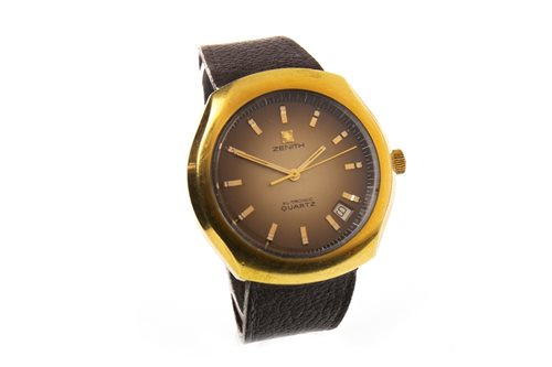 Lot 763-A GENTLEMAN'S ZENITH XL-TRONIC QUARTZ WRIST WATCH