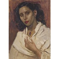 Lot 489-ARGENTINA, AN OIL BY ROBERT SIVELL