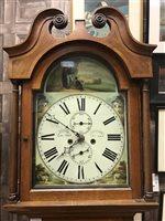 Lot 1439-A LONGCASE CLOCK BY DAVID HAY OF LAURANCEKIRK