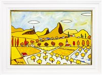 Lot 632-LEMON GROVES AND AN AQUEDUCT, AN OIL BY IAIN CARBY