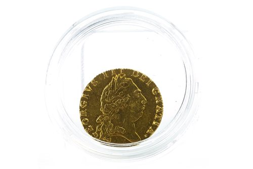 Lot 514-GOLD SPADE GUINEA, 1795