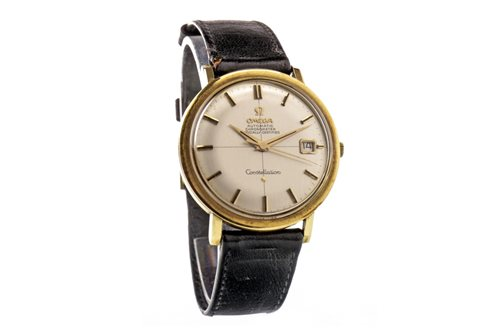 Lot 758 - A GENTLEMAN'S OMEGA CONSTELLATION AUTOMATIC WRIST WATCH
