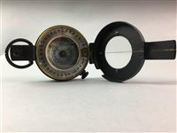 Lot 7-A WWII SHIPS COMPASS BY T. G. CO. LTD OF LONDON
