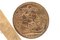 Lot 517-A GOLD SOVEREIGN, 1914